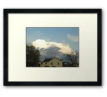 Superstorm's 13 Framed Print