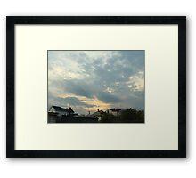 Superstorm's 22 Framed Print