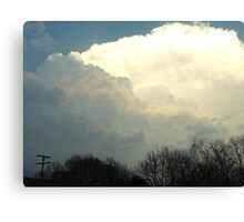 Superstorm's 25 Canvas Print