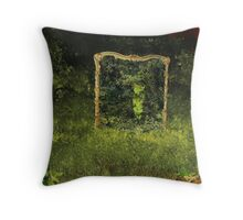 Unwanted Mirror Throw Pillow