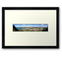 Stanley Panorama Framed Print
