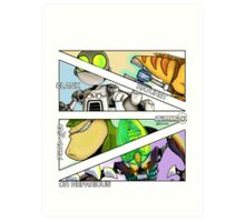 Aim FIRE!!! Art Print