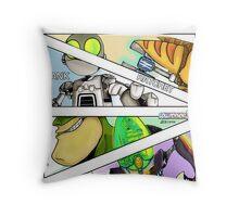 Aim FIRE!!! Throw Pillow