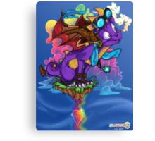 Rainbow Veins Canvas Print