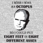 Red Forman - Octopus by SaBLeSoLDi3R