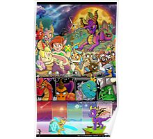 Spyro Tribute Poster