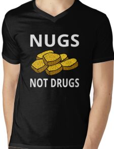 Nugs Not Drugs Mens V-Neck T-Shirt