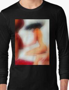 Black Hair Swish 1c Long Sleeve T-Shirt