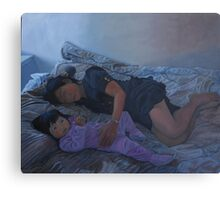 January Afternoon Mukilteo Washington Canvas Print