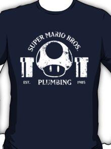 Super Mario Bros. Plumbing (Dark) T-Shirt