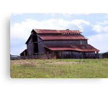 Old Weathered Barn Canvas Print