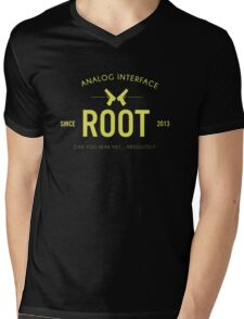 Person of Interest - Root - Black Mens V-Neck T-Shirt