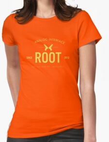 Person of Interest - Root - Black Womens Fitted T-Shirt