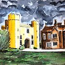 Hodsock priory by Ivor