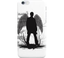 Castiel the Angel iPhone Case/Skin