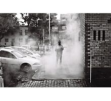 Street Menace Photographic Print
