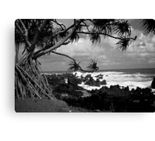 On the Fringe of Paradise Canvas Print