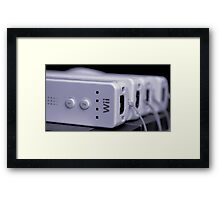A Wii Bit of Control Framed Print