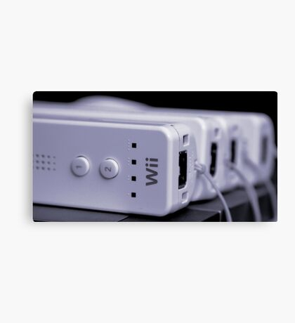 A Wii Bit of Control Canvas Print