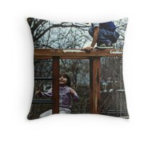 Creative Play Time - Cousins Throw Pillow