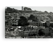 Into The City Canvas Print