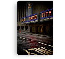 It's a Radio City Canvas Print