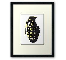 Grenade Framed Print