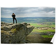 Landscape photographer, Germany. Poster