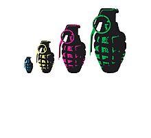 Grenade Babushka   Photographic Print