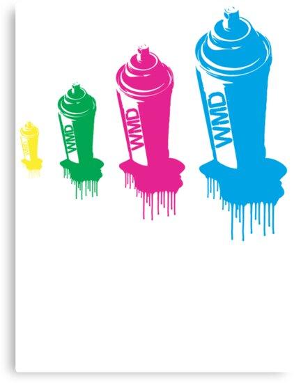 Spray paint graffiti babushka 1  by 305movingart