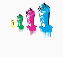 Spray paint graffiti babushka 2 Unisex T-Shirt