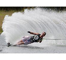 Australian Slalom Titels Photographic Print