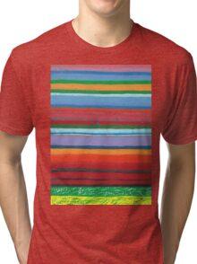 Tulip Fields  Tri-blend T-Shirt