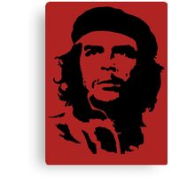 che guevara t-shirt Canvas Print