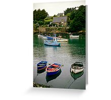 Brittany, France. Greeting Card