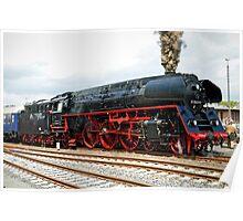 German class 01 Steam Locomotive. Poster