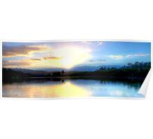 Wingham Brush Sunrise Poster