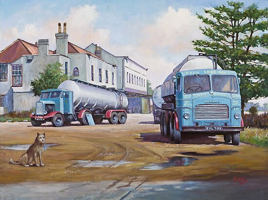Davis's tankers. by Mike Jeffries