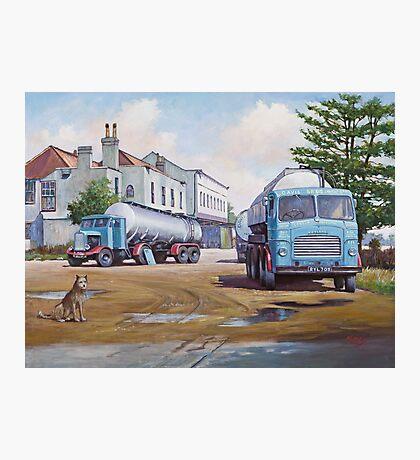 Davis's tankers. Photographic Print