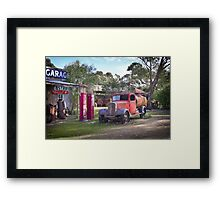 Old Tailem Town Framed Print