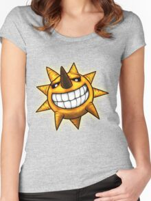 Soul Eater Sun  Women's Fitted Scoop T-Shirt
