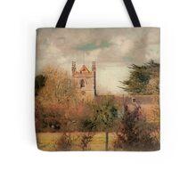 Village Church Tote Bag