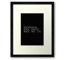 Science the Shit Out of It! Framed Print