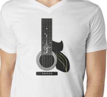 Acoustic Guitar Impression Mens V-Neck T-Shirt