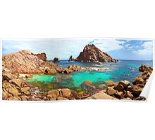 Sugarloaf Rock Day Panoramic Poster