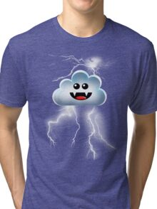 THUNDER CLOUD Tri-blend T-Shirt