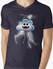 THUNDER CLOUD Mens V-Neck T-Shirt