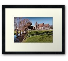 St.Clements Framed Print