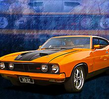 Ford Falcon XB 351 GT Coupe by Stuart Row