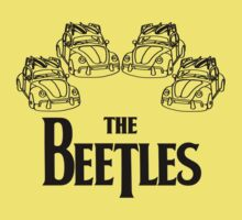 the beetles t-shirt One Piece - Short Sleeve